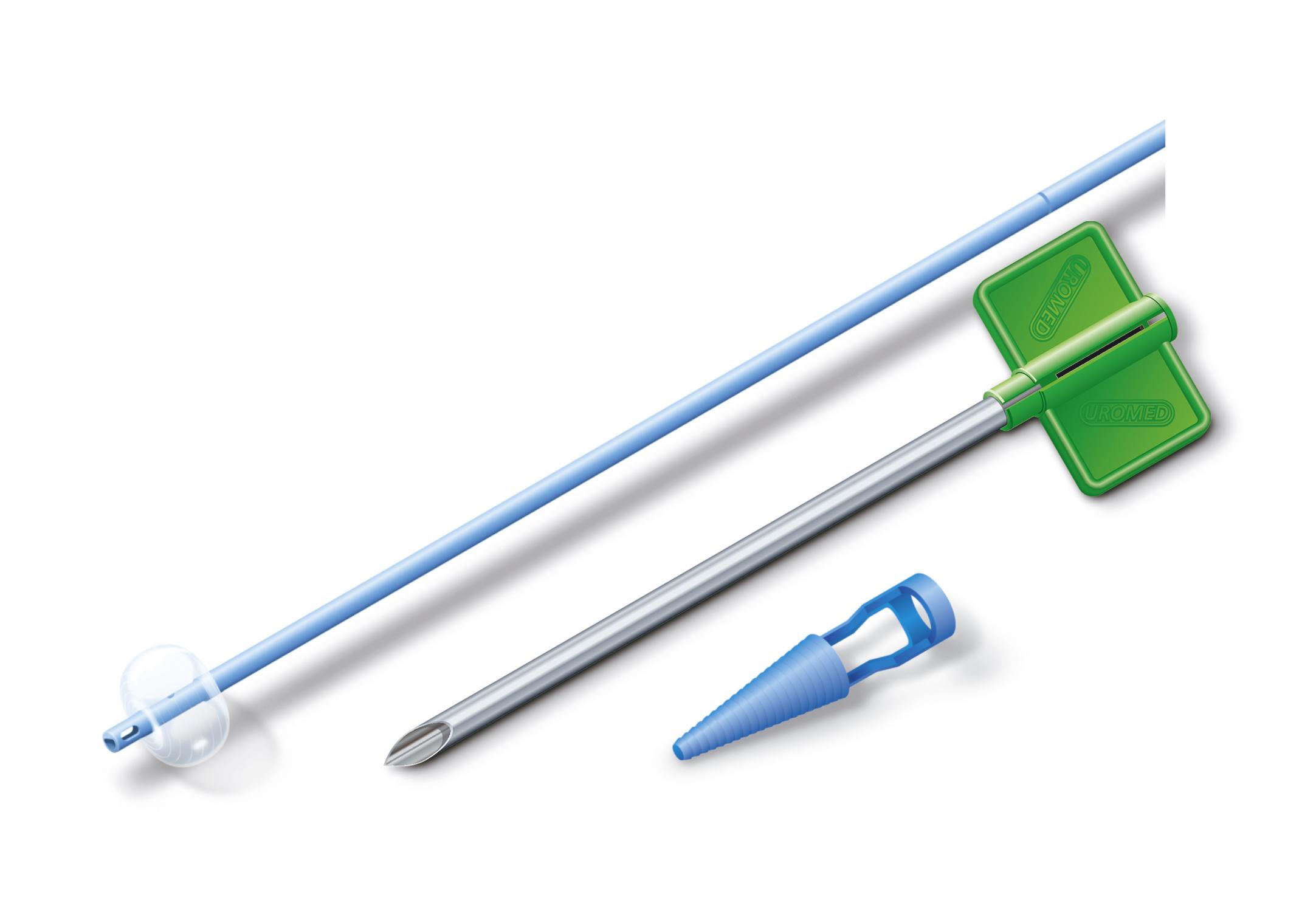wat is een suprapubische katheter